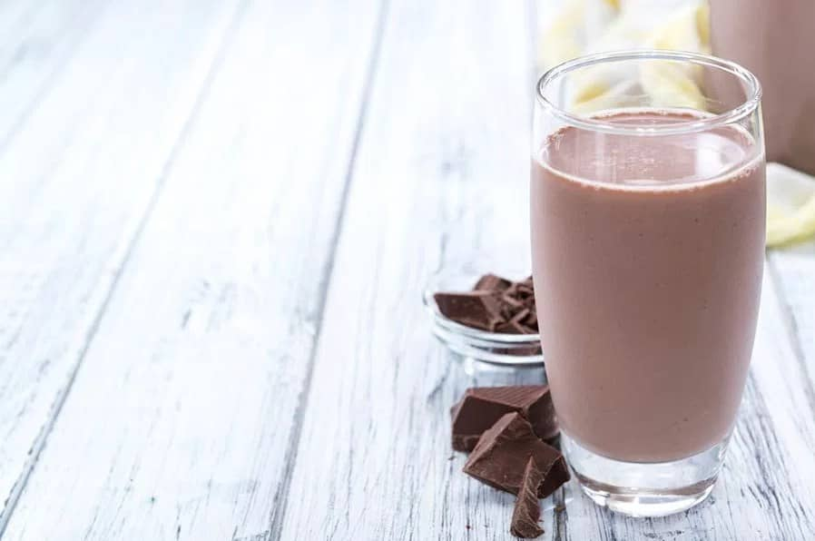 Chocolate Slim, напитка с шоколад