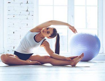йога вкъщи аеробика