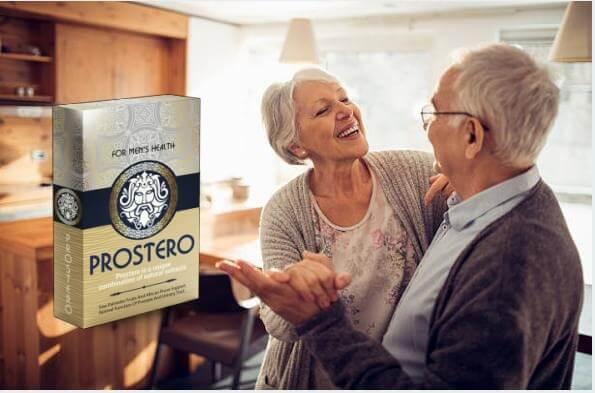Prostero, възрастна двойка, която танцува