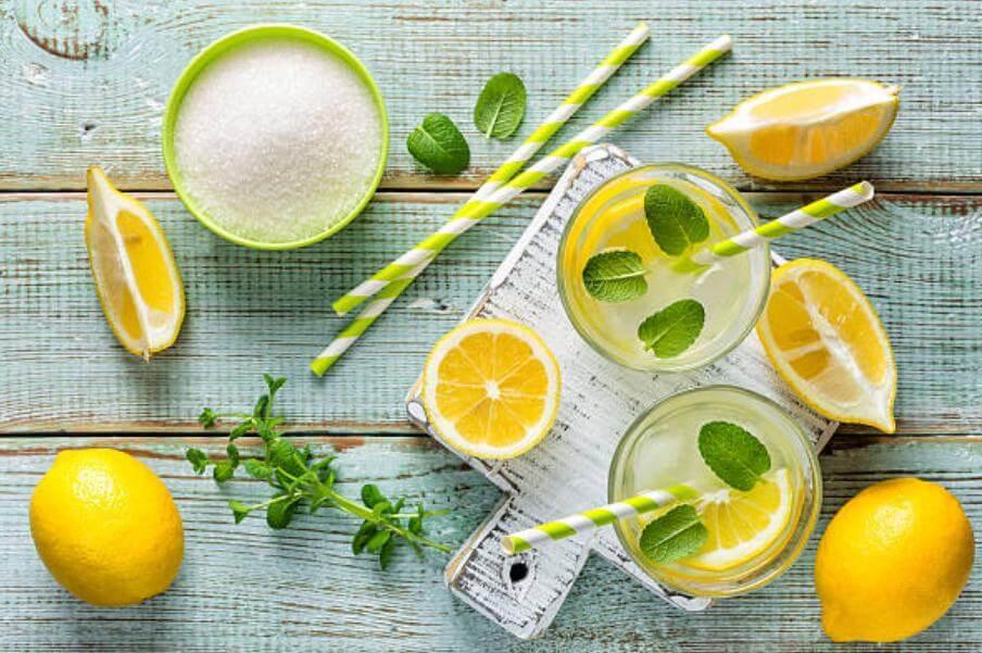 лимон и мента