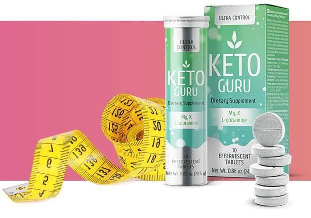 Keto Guru шипучие таблетки для похудения в Салавате