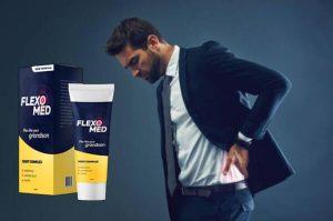 FlexoMed гел, мъж в болки в кръста
