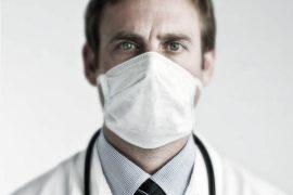 маска за лице, лекар, грип, вирус