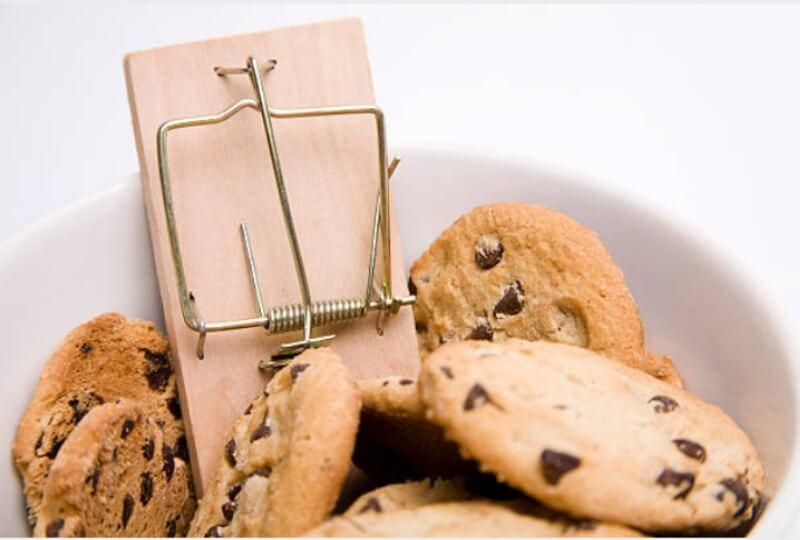 как да спрем сладкото, бисквити, капан