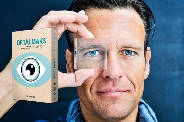 oftalmaks капсули, очи, коментари и цена в България, зрение, мъж