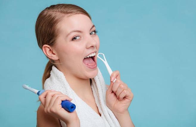 дентална хигиена, жена