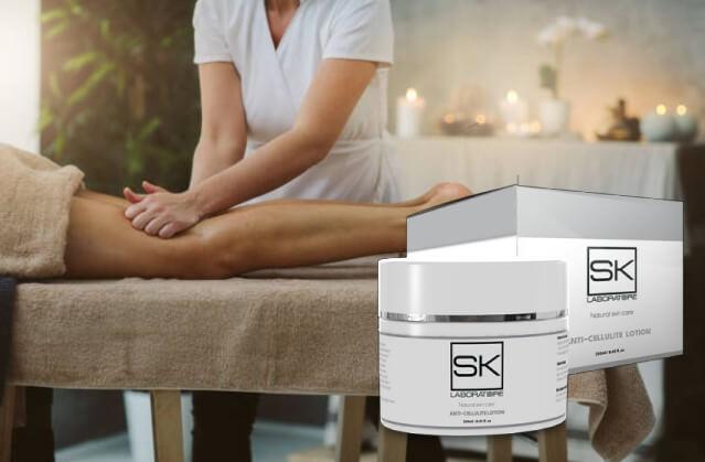 SK Cellulitis, donna, massaggio