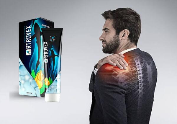 artrovex gel, uomo, dolori