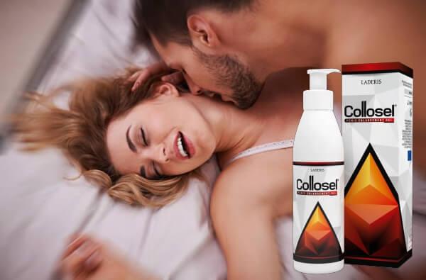 collosel gel, coppia, sesso