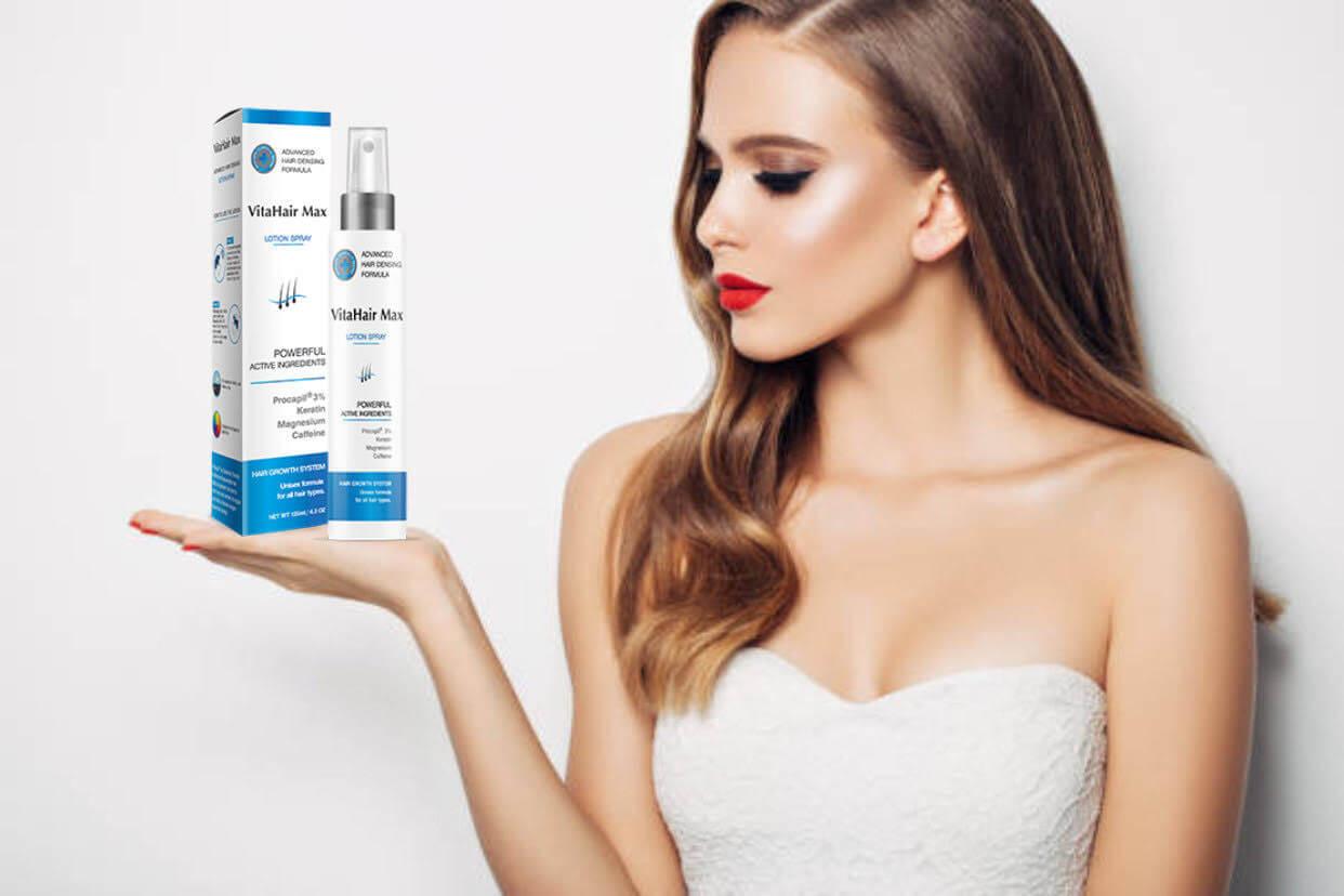 donna, vitahair max spray lotion