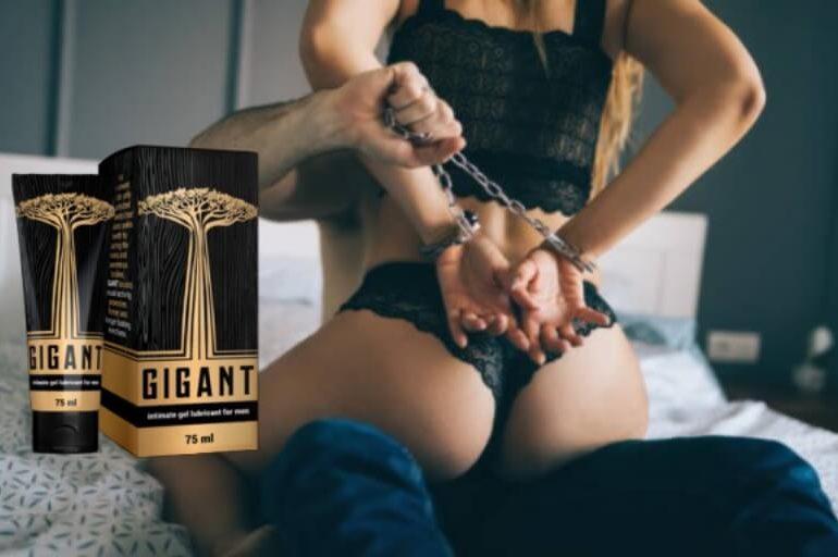 gel gigant, coppia, intimità, erezione, sesso