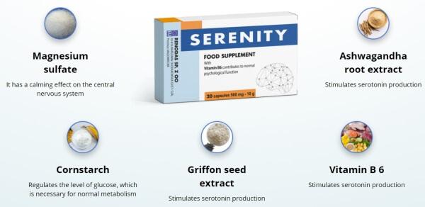 capsule per la depressione, ingredienti