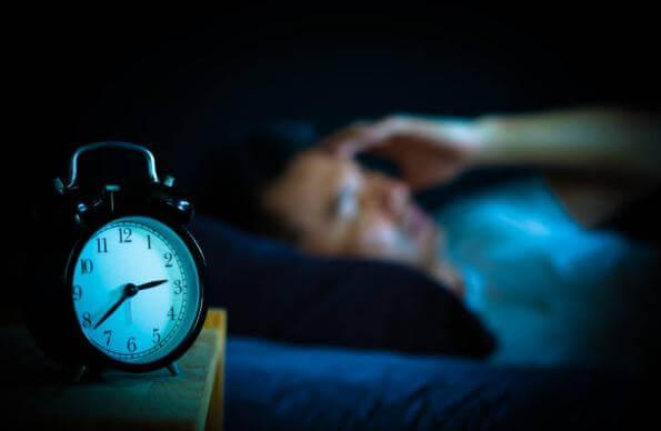 clock, man, sleep