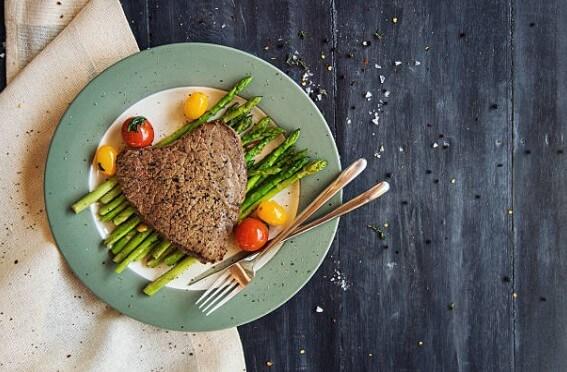 plate, food