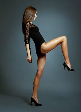woman, legs