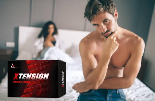 xtension, man with erectile dysfunction