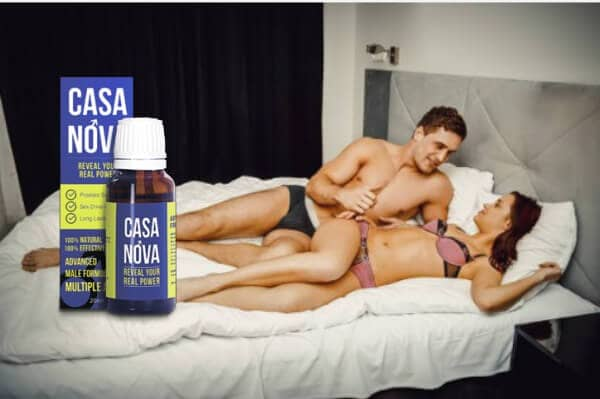 casanova, sexy couple in bed