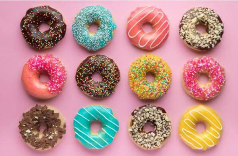 diet, weight loss, donuts