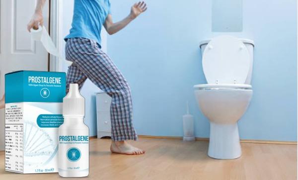 prostalgene, toilet, prostate