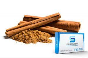 Cinnamon, suganorm capsules ingredients