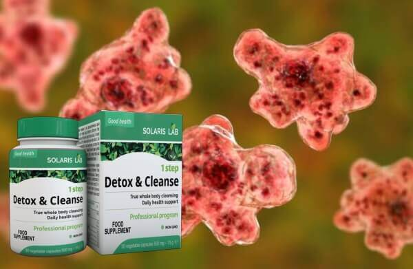 1 Step Detox & Cleanse, parasites