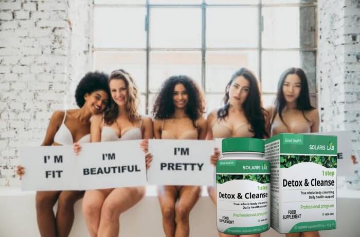 1 step detox & cleanse, women