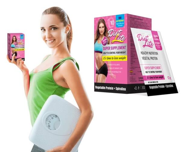 Diet Lite, woman, weight scale