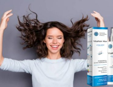 VitaHair Max, anti-hairloss spray, woman, hair
