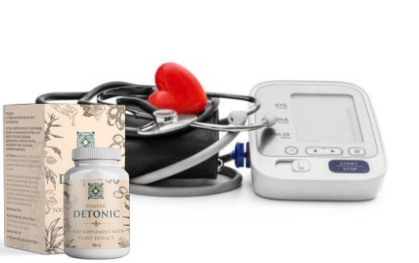 Detonic, heart, blood pressure