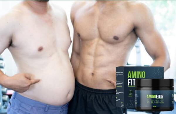 aminofitin, fat and muscular man