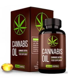 cannabis oil, capsules