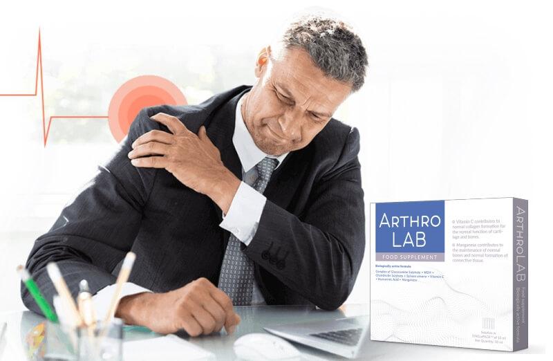 arthro lab, man, joint pain, cramps