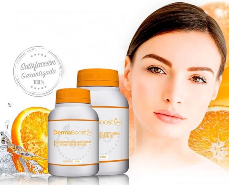 dermabooster 360, capsules, woman, skin, wrinkles