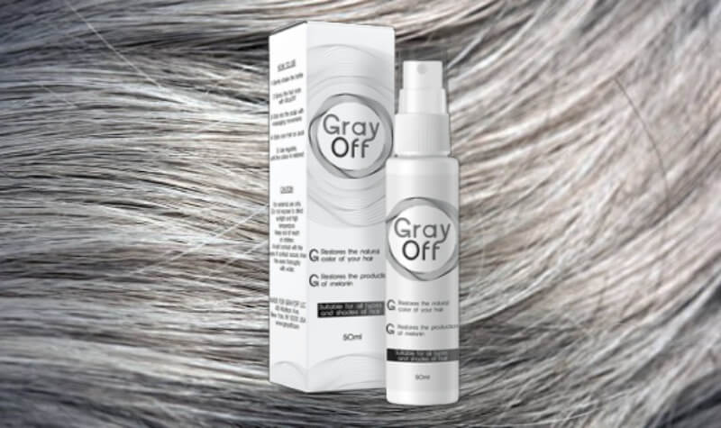 grayoff spray hair, color