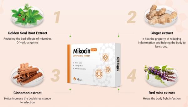 mikocin active, ingredients