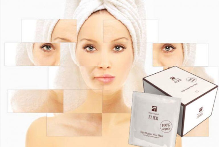 elier moor mask, woman, skin care, face