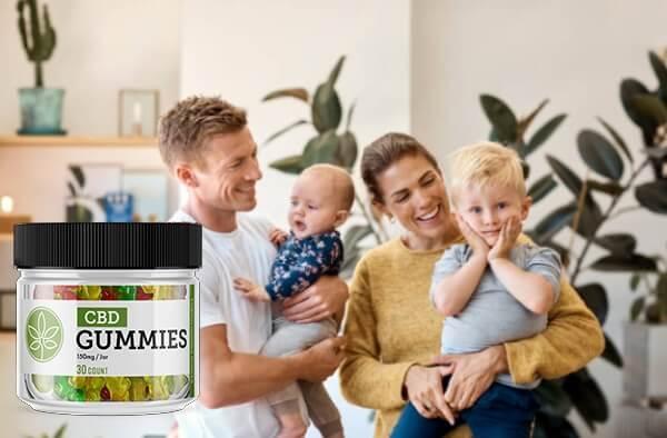 healthy family, cbd gummies