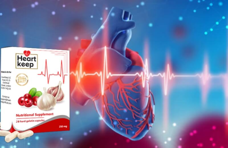 heartkeep capsules, hypertension, heart attack