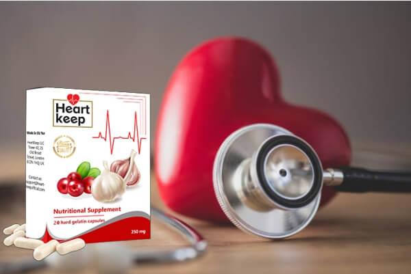 heart health, capsules, garlic