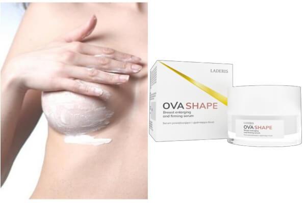 ovashape, apply, cream