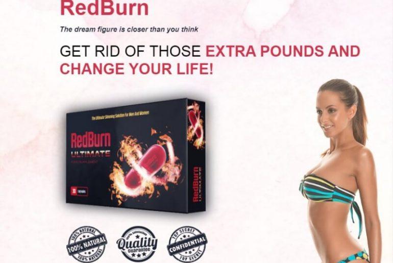 redburn capsules, website, woman, weightloss