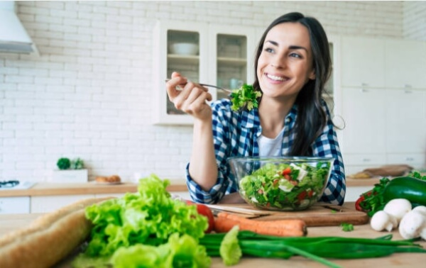 woman, diet
