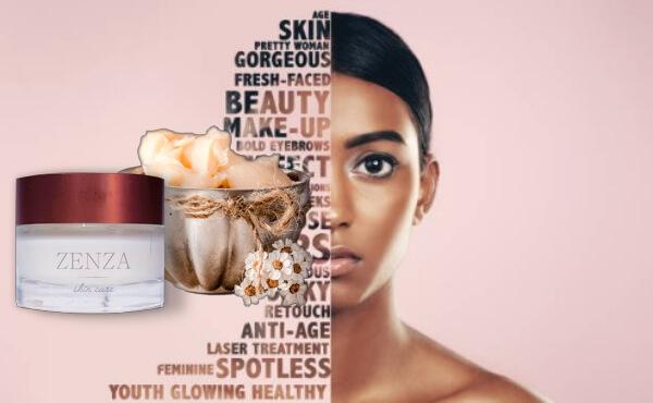 zenza cream, woman, skin care