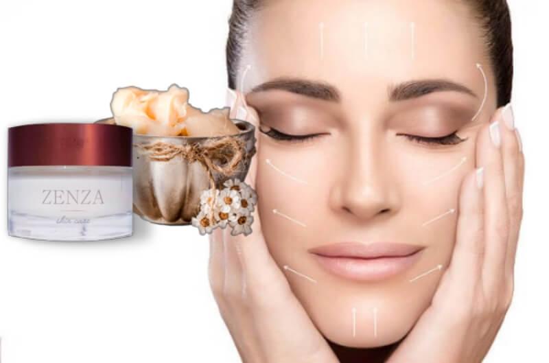 zenza cream, wrinkles, woman, anti-aging