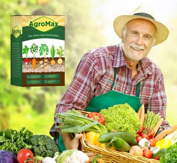 agromax, man, vegetables