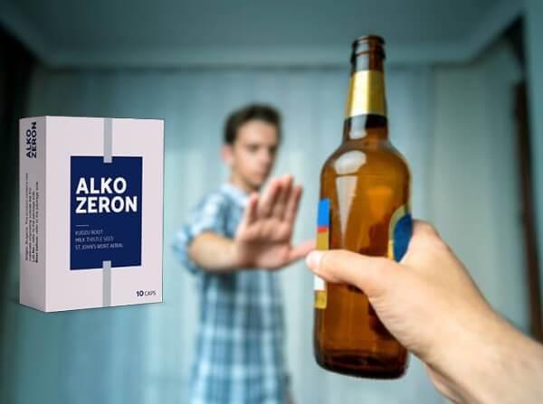 stop alcohol, capsules alkozeron