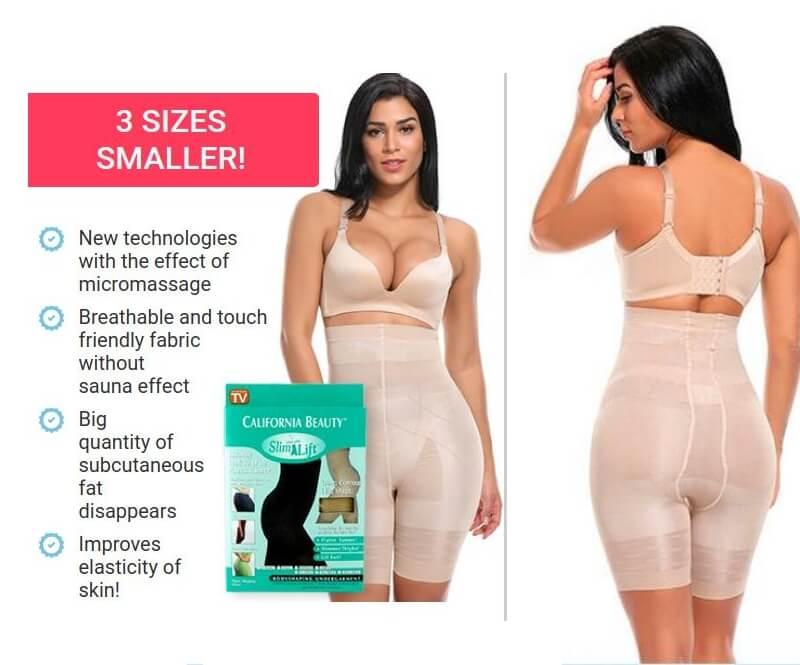 california shaper, underwear, slim n lift, woman
