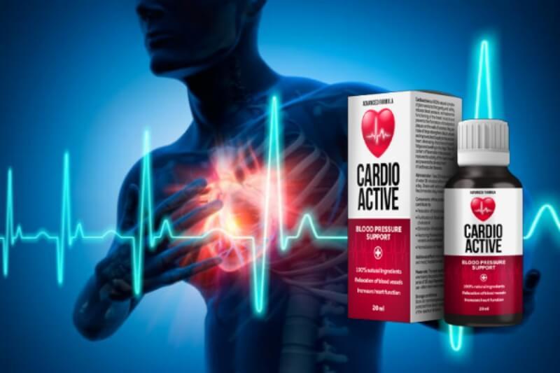 gocce cardioattive, cuore, ipertensione, pressione sanguigna