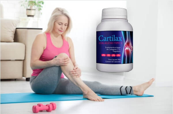 cartilax capsules, joint pain, knee, woman