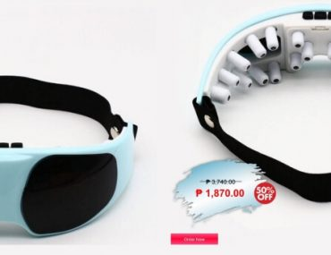 eyespro mask, massager